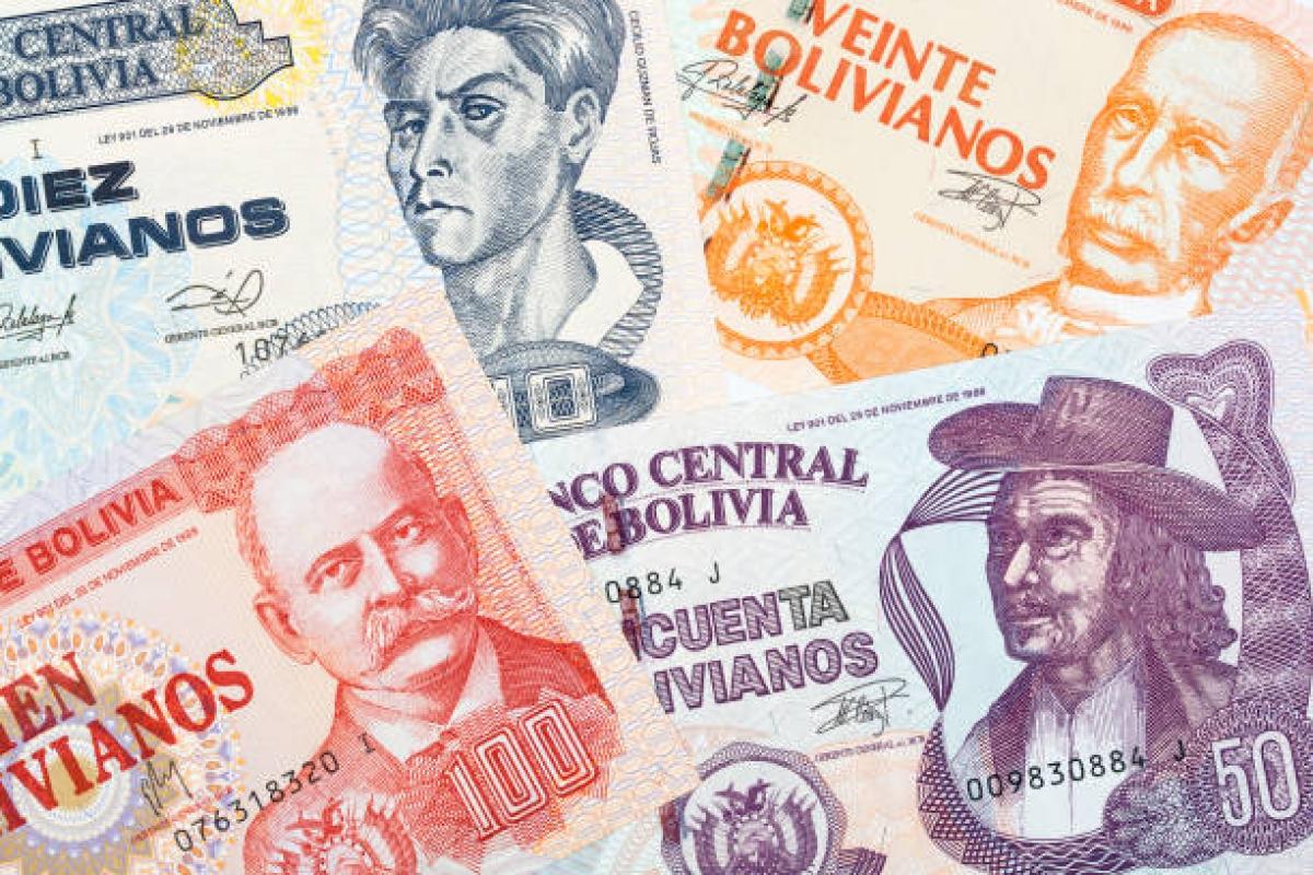 Compra Y Venta Peso Boliviano Bogotá